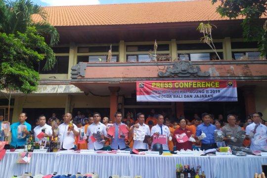 Polda Bali ungkap 178 kasus dalam Operasi Pekat Agung II 2019