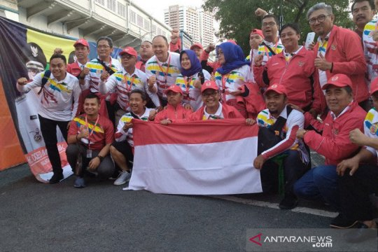 "Wakil Wali Kota Bandung bawa 50 ""Bobotoh"" dukung timnas U22 ke Manila"