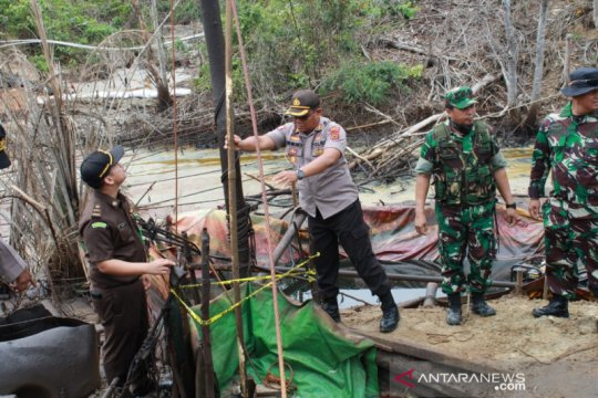 Satgas gabungan ungkap modus pelaku illegal drilling kelabui petugas