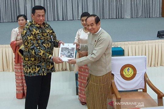 Kedubes Indonesia serahkan RS untuk Masyarakat Myanmar