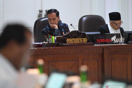 Lima capaian strategis setahun pemerintahan Jokowi-Ma'ruf versi KSP