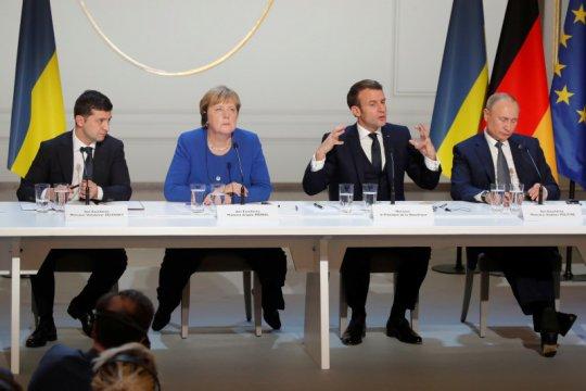 Merkel desak semua pihak dukung perjanjian nuklir Iran