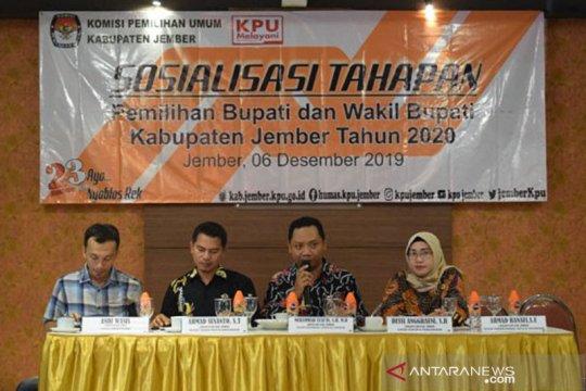 KPU Jember targetkan partisipasi pemilih pilkada 72 persen