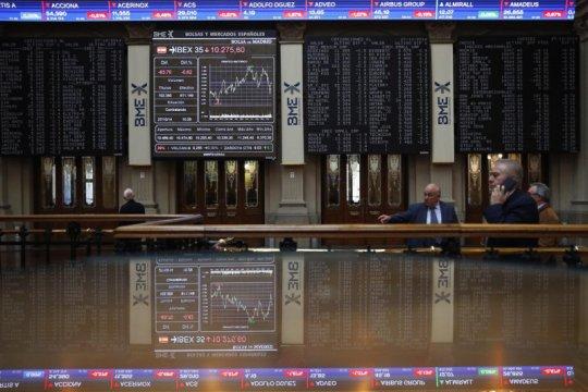 Saham Spanyol ditutup positif, indeks IBEX 35 terkerek 1,56 persen