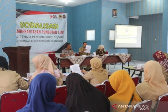 Satgas Saber Pungli Pekalongan sosialisasi antipungli pada pendidik