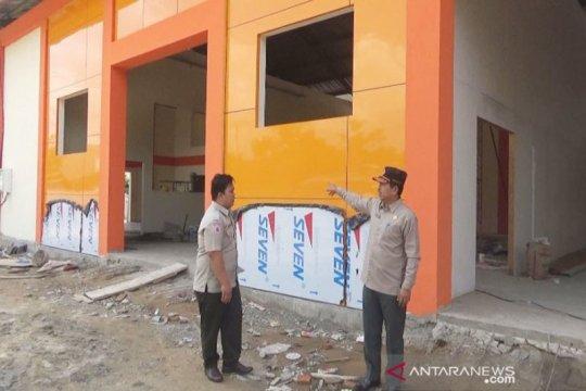 BPBD Kapuas Kalteng bangun gudang tahan bencana