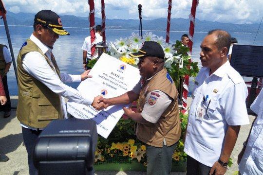 BNPB serahkan Rp93,819 miliar untuk rehabilitasi rumah rusak di Maluku