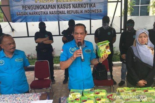 BNN gagalkan penyelundupan narkoba dari negeri jiran Malaysia di Medan