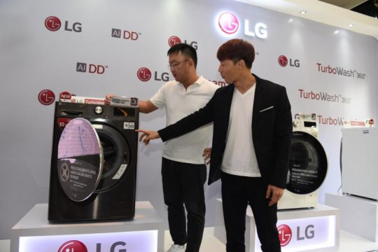 Produsen elektronik Korea ini ingin kuasai 50 persen pasar mesin cuci