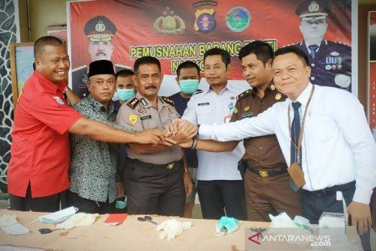 Polres Kotawaringi Timur tegaskan terus perangi narkoba