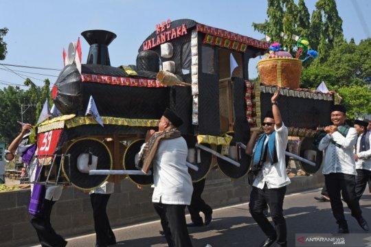 Tradisi pawai Mulud di Banten