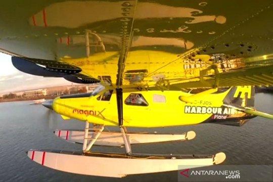 Pesawat listrik komersial pertama di dunia lepas landas dari Kanada