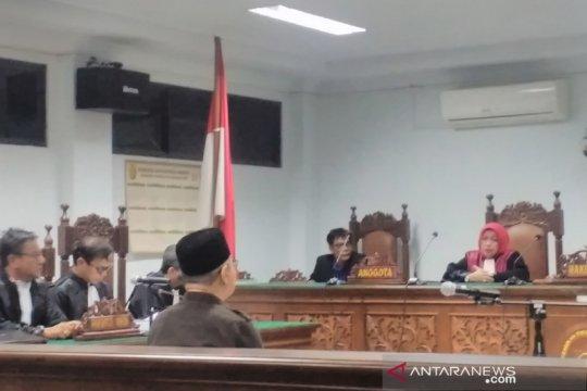 Mantan Bupati Simeulue dituntut lima tahun penjara