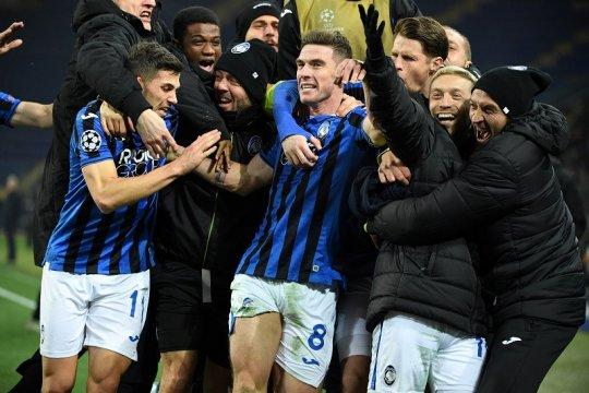 Ringkasan Grup C: Atalanta ukir sejarah temani Man City ke 16 besar
