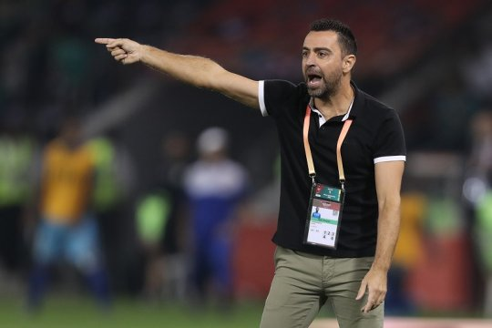 Xavi: Melatih Barcelona adalah tujuan utama saya