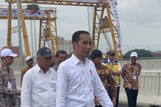 Tol Layang Jakarta-Cikampek belum mulus, Presiden janjikan perbaikan