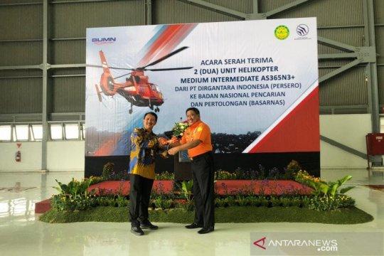 PTDI serah terimakan dua unit helikopter ke Basarnas