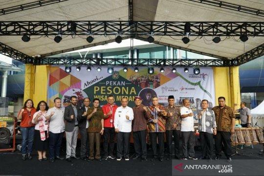 Telkomsel-Dinas Pariwisata gelar Pekan Pesona Wisata Medan