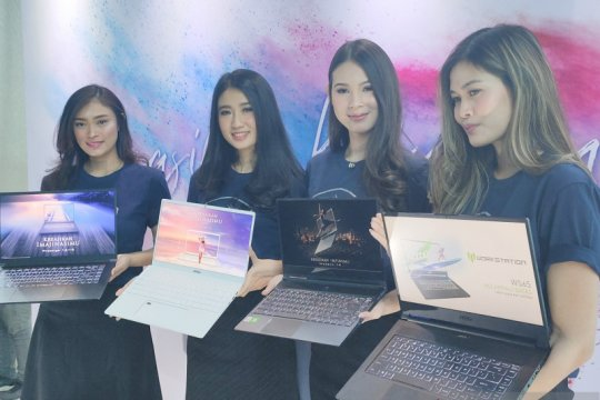 """Empat laptop """"content creator"""" dari MSI, berikut spesifikasi dan harga"""