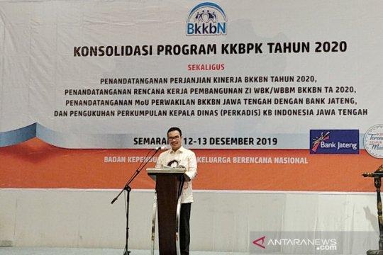 Kepala BKKBN minta pegawainya genjot kinerja di 2020