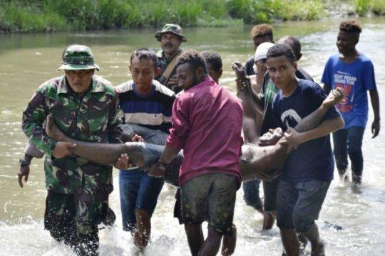Korem 172/PWY gelar latihan penanggulangan bencana alam