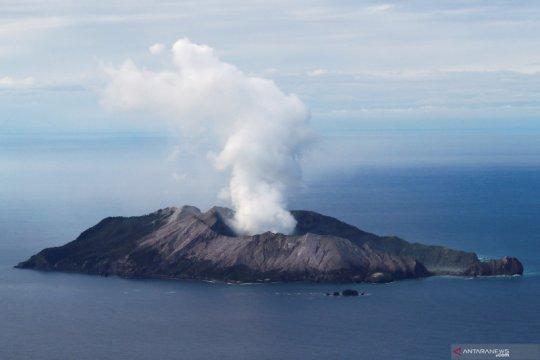 Penyelam Selandia Baru cari korban letusan gunung berapi