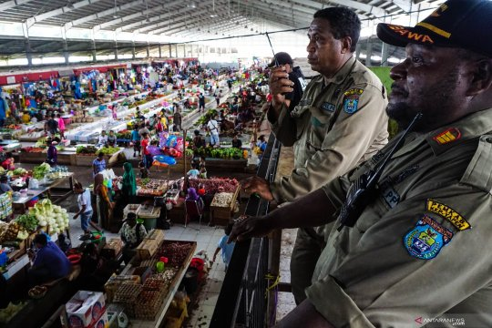 BPS: Pertumbuhan ekonomi Papua anjlok 15,72 persen