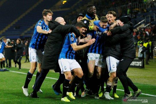 Liga Champions: Atalanta lolos ke babak 16 besar