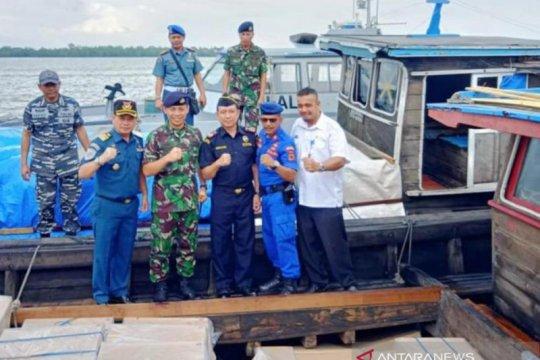 Lanal Palembang maksimalkan tim F1QR berantas penyelundupan