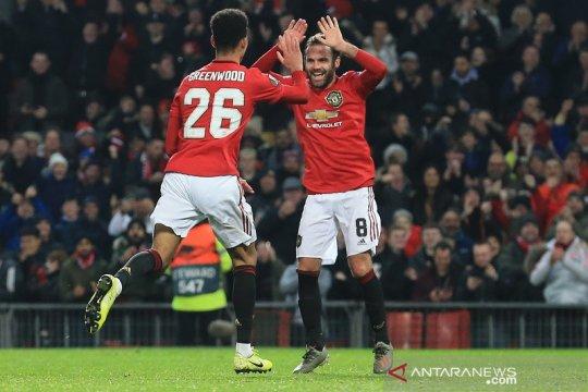 Gulung AZ Alkmaar 4-0, Manchester United rajai Grup L