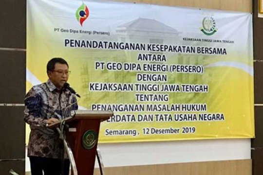 GDE gandeng Kejati Jateng untuk percepat proyek pengembangan WKP