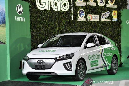 Spesifikasi Hyundai IONIQ listrik yang dipakai Grab