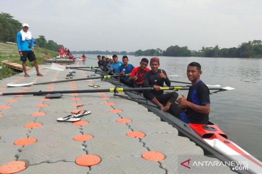 Sultra seleksi pedayung rowing hadapi PON XX