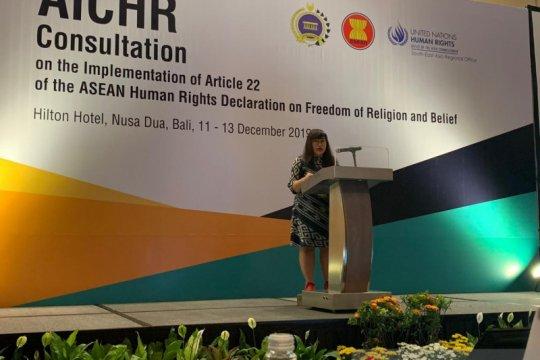 AICHR: kebebasan beragama hak fundamental setiap manusia