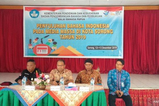 Pelatihan bahasa untuk wartawan Sorong diharapkan tunjang tugas