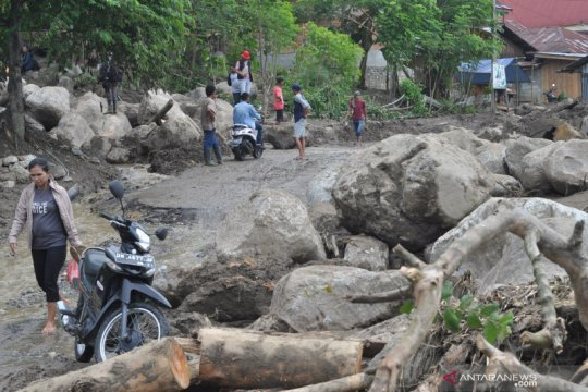 Korban banjir bandang Bolapapu butuh air bersih