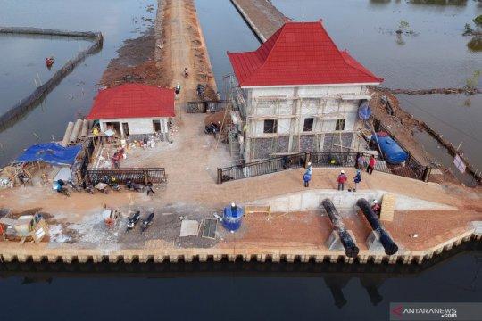 Pembangunan rumah pompa air Pekalongan