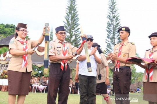 Bawaslu Bali menggelar Perkemahan Bakti Pemilu