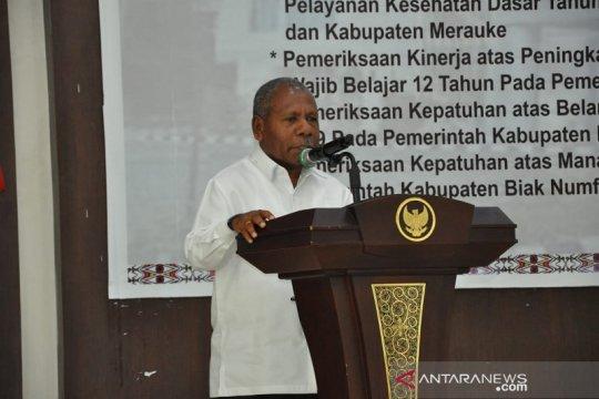Bupati Jayapura Beri Apreasiasi Fungsi Kontrol BPK
