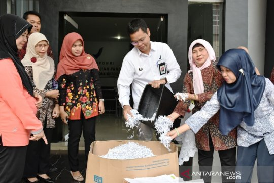 BPOM Pekanbaru musnahkan 17.046 arsip