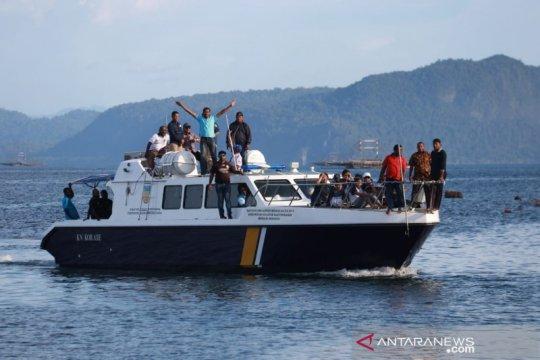 Pencurian ikan di Papua diminimalisasi dengan keberadaan KN Korase