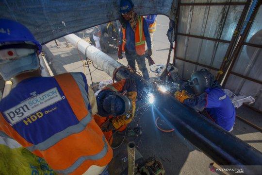 Target pembangunan jaringan gas PGN di tahun 2020