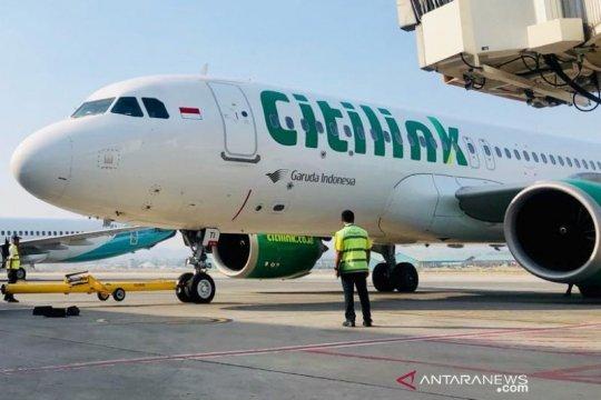 Citilink percepat awali penerbangan khusus Jambi-Jakarta, mulai besok