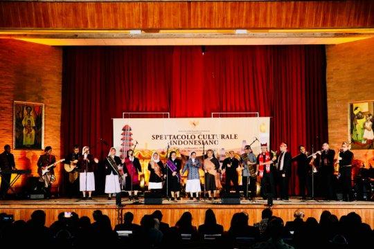 Di Vatikan, rohaniwan tampil pada Pergelaran Budaya Indonesia