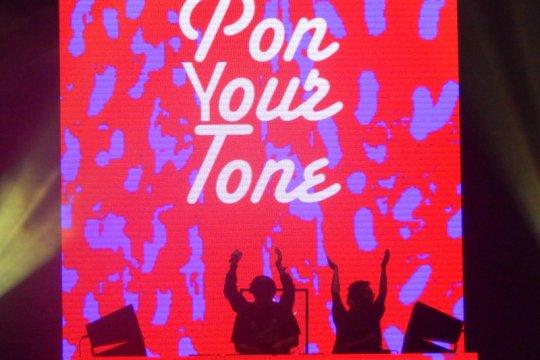 Kolaborasi seru Pon Your Tone di DWP 2019