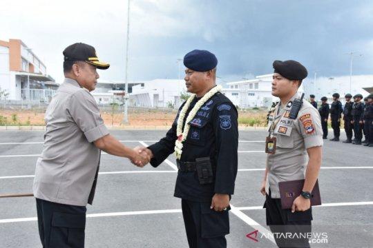 Brimob BKO Papua kembali ke Kalsel