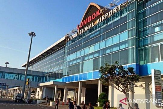 Penumpang di Bandara Lombok melonjak hampir 2 kali lipat pada Juli