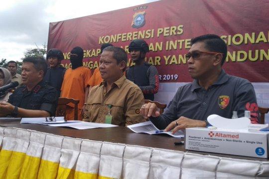 Riau jadi pintu penyelundupan satwa sindikat internasional