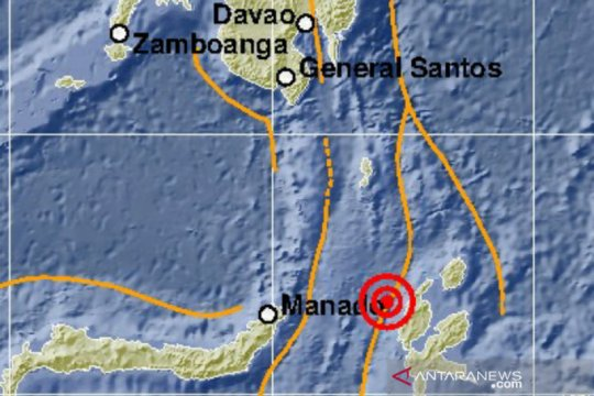 Gempa magnitudo 5,5 Maluku Utara, tidak berpotensi tsunami