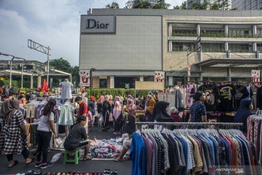 Jumlah PKL pada HBKB Jakarta mencapai 1.534 pedagang